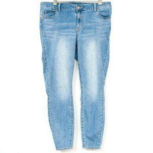 Old Navy Rockstar Jeans 18 High Rise Skinny Blue D